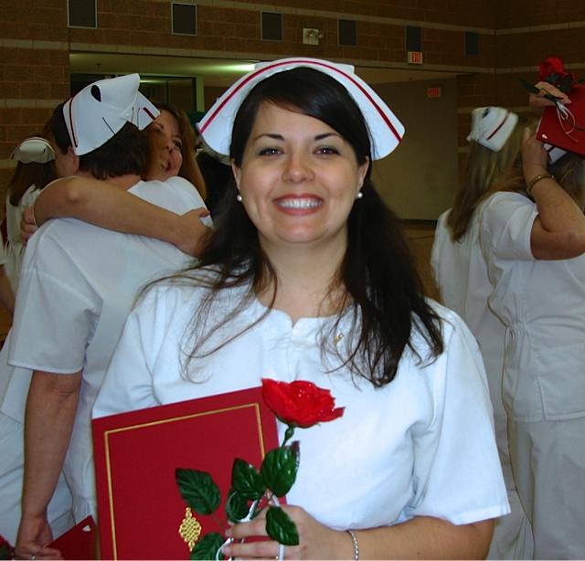Graduate of nursing school