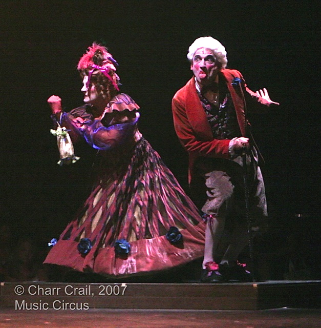 3 The Thenardiers from Les Miserables at Sacramento Music Circus costumes by Marcy Froehlich