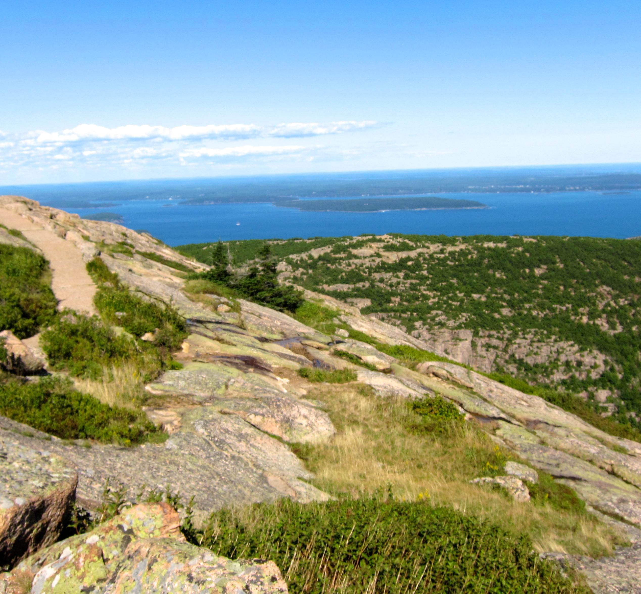 Cadillac mountain Mount Desert Island Maine Acadia Maine