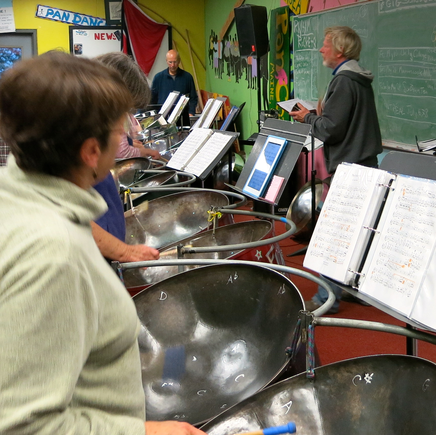 Chase steel drums