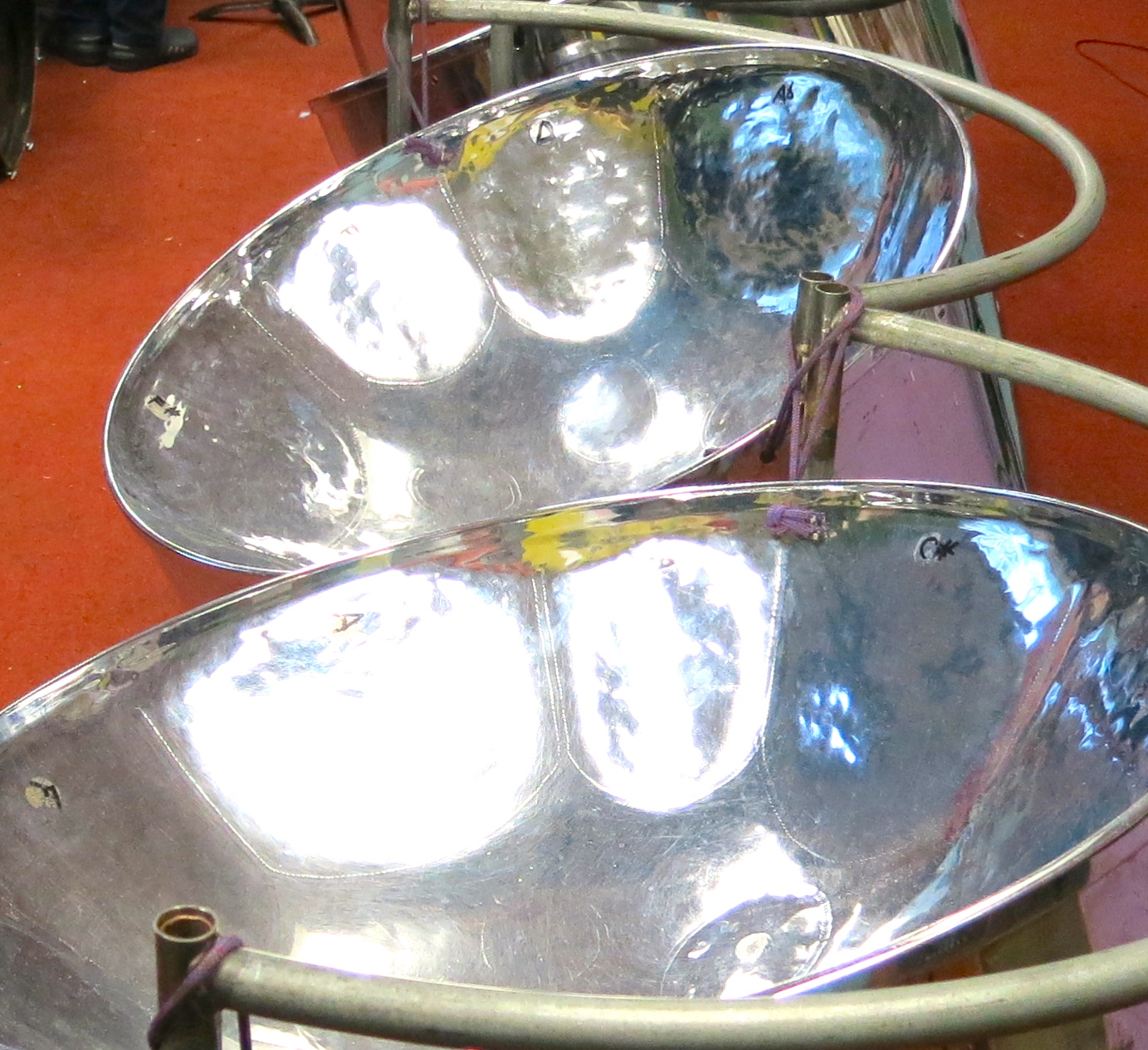 Shiney steel drum