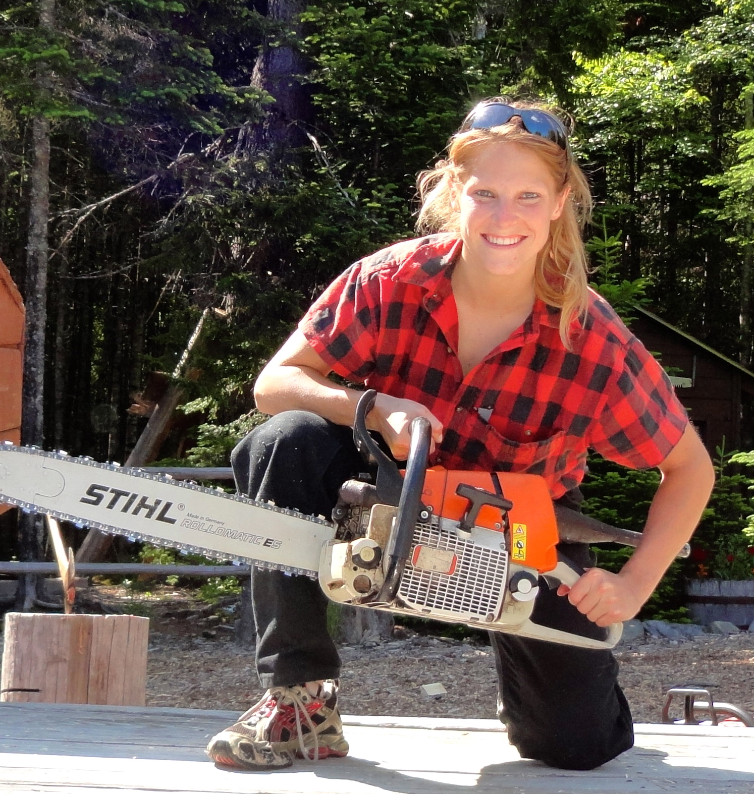 Big chainsaw Blaker lumberjill