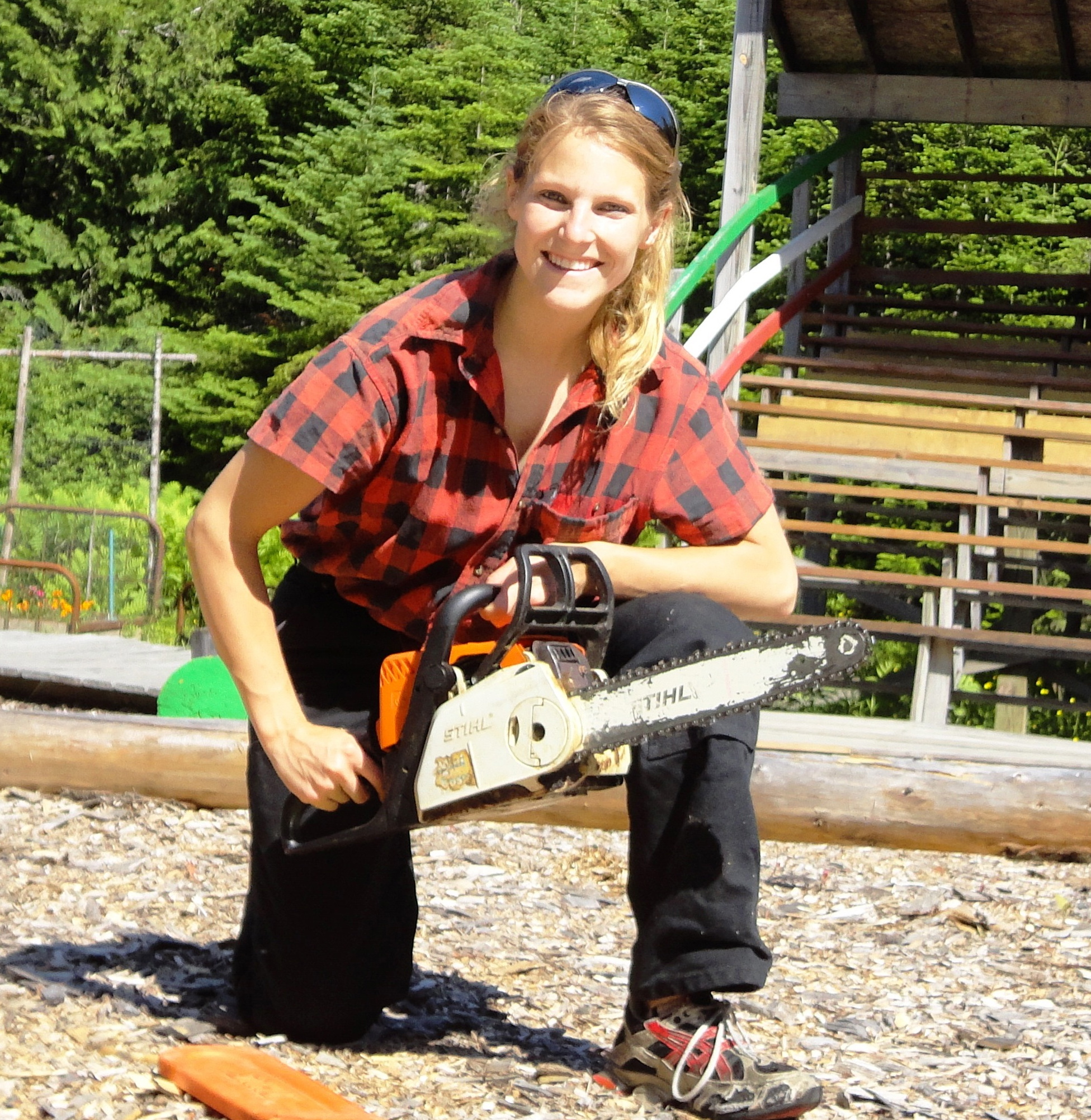 smaller chainsaw Blaker lumberjill