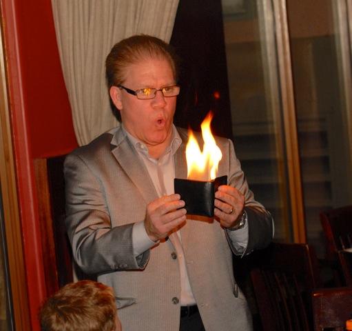 Dan Fleshman magician