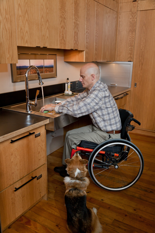Accessible Home, Randy Earle, Leslie Haynes, Pioneer Square, Seattle